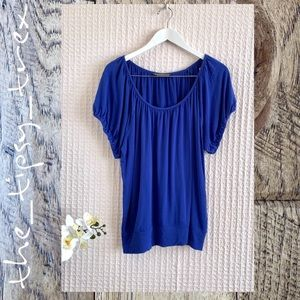 Reaction Kenneth Cole Cap Sleeve Top  1X